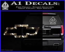 Chevy Bowtie Decal Sticker A1 Decals