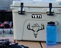 Yeti Hunting Decal Etsy