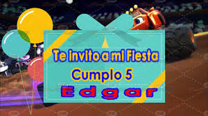 Invitacion En Video Para Cumpleanos Blaze Youtube