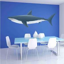 Colorful Shark Wall Sticker Style And Apply