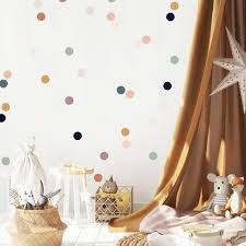 Wall Decal Jewel Hue Dots Wall Sticker Room Decor The Lovely Wall Company