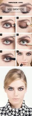 1960 eye makeup cat eye makeup