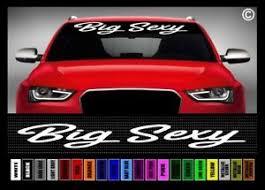 40 Big Sexy Lifted Truck Rock Crawler 4x4 Car Decal Sticker Windshield Banner Ebay