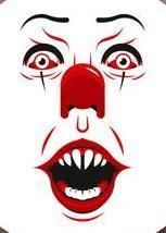 It Pennywise Face Color Vinyl Decal Collector S Heaven