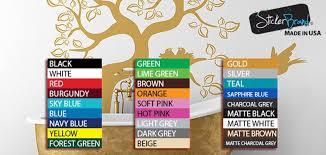 410 Large Oak Tree Wall Decal Sticker By Stickerbrand