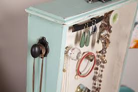 diy jewelry organizer made from
