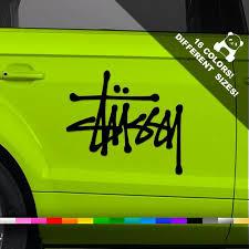 50 Off Stussy Logo Car Decal Stussy Emblem Truck Or Etsy