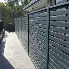China Aluminium Profile Slat Fence Security Fence Panel Outdoor Screen Panel Fence Privacy Fence China Aluminum Fence Slat Fencing