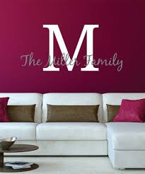 Lollipop Walls Block Initial Cursive Name Personalized Decal Zulily