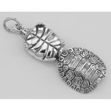 turtle sterling silver