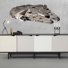 Shop Space Ship Star Wars Full Color Wall Decal Sticker K 1014 Frst Size 20 X31 Overstock 21140811