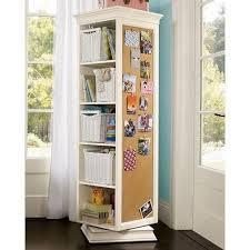space saving swivel storage cabinet
