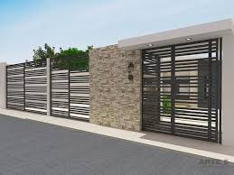 Modern Home Fence Design