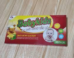 Combo sỉ 5 hộp babykids ăn ngủ ngon yến sào - P76231