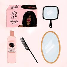 how to care for your relaxed hair at