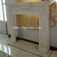 artificial stone carved fireplaces