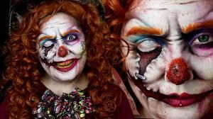 mad hatter evil clown wonderland makeup