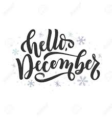 hello lettering card snowlakes hand drawn