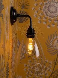 clear glass wall light ledbury