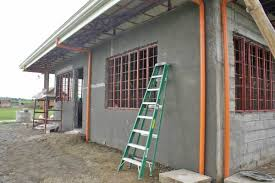 Our Philippine House Project Finishing Plastering My Philippine Life