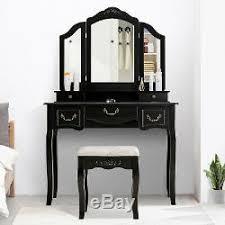 vanity makeup dressing table set