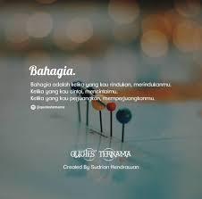 quotes ternama bahagia like share follow instagram facebook