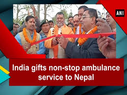 india gifts non stop ambulance service