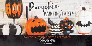 pumpkin painting party folsom