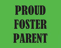 Foster Parent Decal Etsy