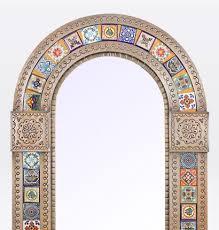 mexican copper tin tile mirrors