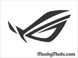 Asus Rog Logo Computer Pc Case Window Applique Vinyl Decal Color Choices Ebay