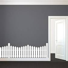 Define A Space With A Picket Fence Wall Decal Creative Designs