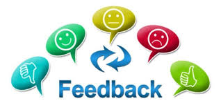 Get feedback from your customers.