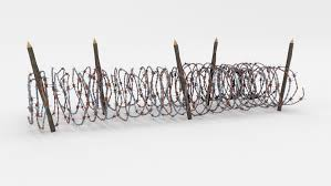 Low Poly Barb Wire Obstacle 16 3d Model In Miscellaneous 3dexport