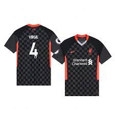 Virgil van Dijk Liverpool Jersey Third ...