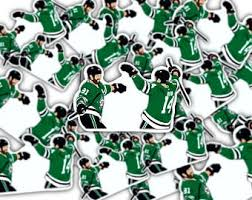 Dallas Stars Decals Etsy