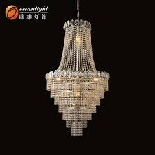modern luxury crystal led chandeliers