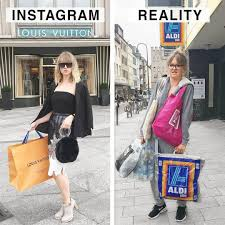 Geraldine West, a German artist, decided to showcase how fake and phony  Instagram infuencers are by showing s… | Funny pictures fails, Blonde  jokes, Instagram fails