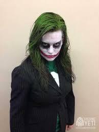 joker makeup costume yeti