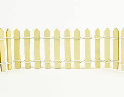 Miniature Fairy Garden 5 5cm Tall Wooden Picket Fence For Crafts 90cm Long Amazon Co Uk Toys Games