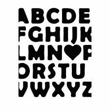 Abc Love Vinyl Decal Sticker