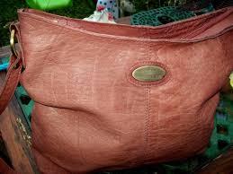 rowallan vintage real leather bag