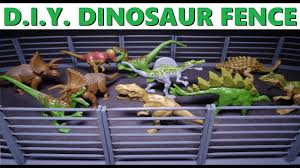 Diy Miniature Fence For Dinosaurs Or Whatever How To Craft Mini Wood Fences Youtube
