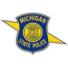 Michigan State Police Sticker At Sticker Shoppe
