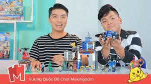 MỞ HỘP SỞ CẢNH SÁT ĐẶC NHIỆM | REVIEW LEGO CITY 60174 - YouTube
