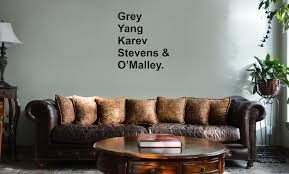 Yang Karev Stevens O Malley Anatomy Doctors Vinyl Wall Mural Decal Home Decor Sticker