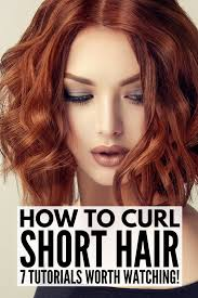 how to curl short hair 7 techniques