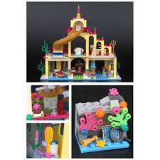 Bộ đồ chơi lắp ráp tương thích với Lego chủ đề lâu đài nàng tiên ...