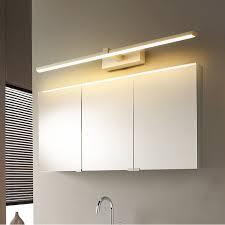 1 2m modern mirror lights anti fog led