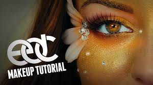 edc rave makeup tutorial iheartraves